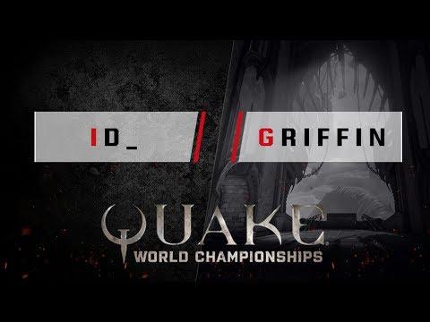 Quake - id_ vs. griffin [1v1] - Quake World Championships - Ro16 NA Qualifier #1