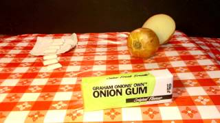 Graham Onions' Own Presents ONION CHEWING GUM