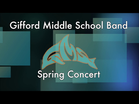 Gifford Middle School Spring Concert