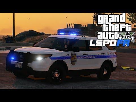 GTA 5 - LSPDFR - Ep 121 - Honolulu Police Department!