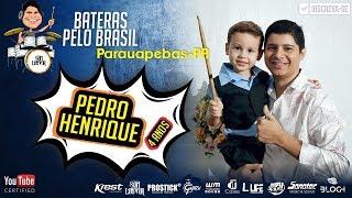 Pedro Henrique 4 anos tocando com Banda SL