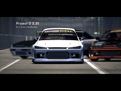rFactor - Project D 2.3 [DRIFT MOD]