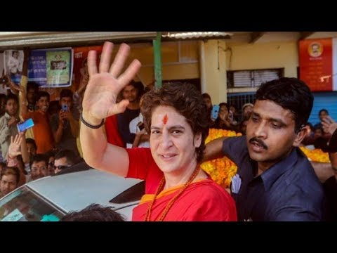 Priyanka Gandhi Addresses a Rally in Ayodhya