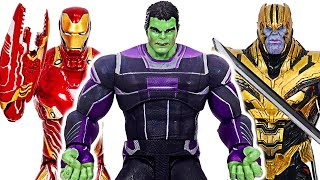 Фото Marvel Select Avengers Suit Hulk Iron-man Vs Warrior Thanos  Dudupoptoy