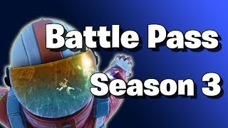 Fortnite Battle Royale Battle Pass Season 3 Announced!