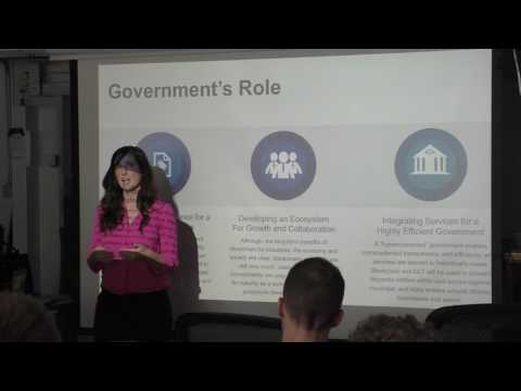 Illinois Blockchain Initiative, Jennifer O'Rourke at Chicago BOB Meetup (1)