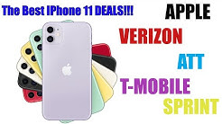 The Best Deals for the iPhone 11/11 pro/11 pro max!!!  Verizon  Att  T-mobile  Sprint