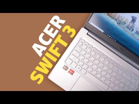 Обзор ноутбука Acer Swift 3 (SF314-42) — долгожитель на Ryzen 5 4500U