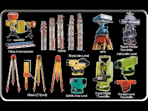 Instruments Used For Survey-Civil Engineering , Detail Video Surveying