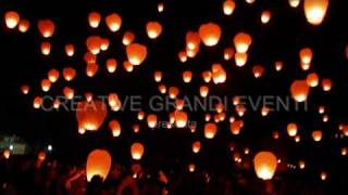 Make a Wish - Sky Lanterns Festival - Genova 2010.wmv