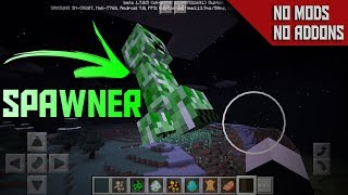 """""""SUPER SPAWNER"""" without Mods Or Addons [Tutorial] - Minecraft PE 1.6"""