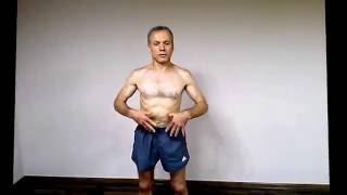 видео Дыхательная гимнастика для похудения живота, упражнения для похудения