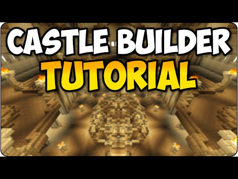 Minecraft PS3 & PS4 Castle Builder - Fantasy House Guide/ Showcase - Console Edition Tutorial