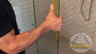 SAVE $$$$ -- How To INSTALL a FRAMELESS Shower Door
