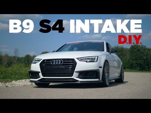 Audi B9 S4 (2018) – Intake Removal and Install DIY