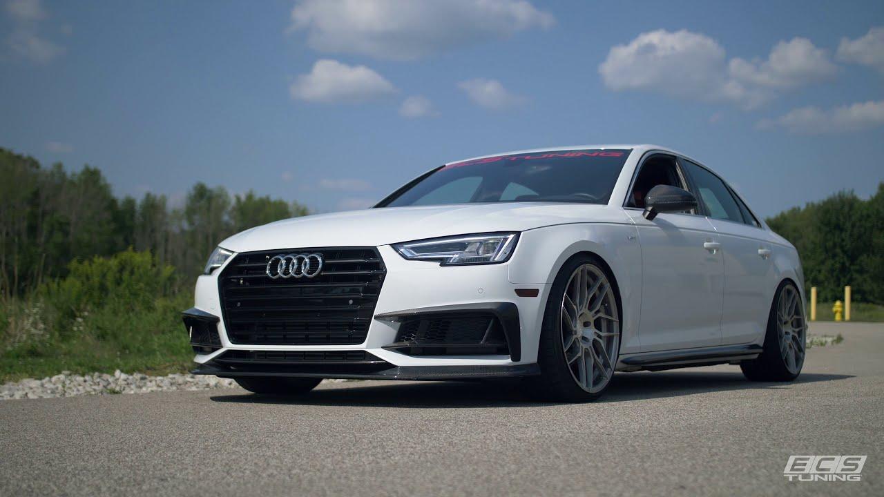 Audi B9 S4 (2018) - Intake Removal And Install Diy  Ecs Tuning 07:48 HD