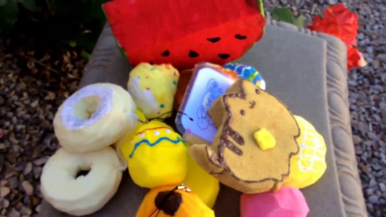Homemade Squishy Collection 2014 : Homemade squishy collection!!! - YouTube