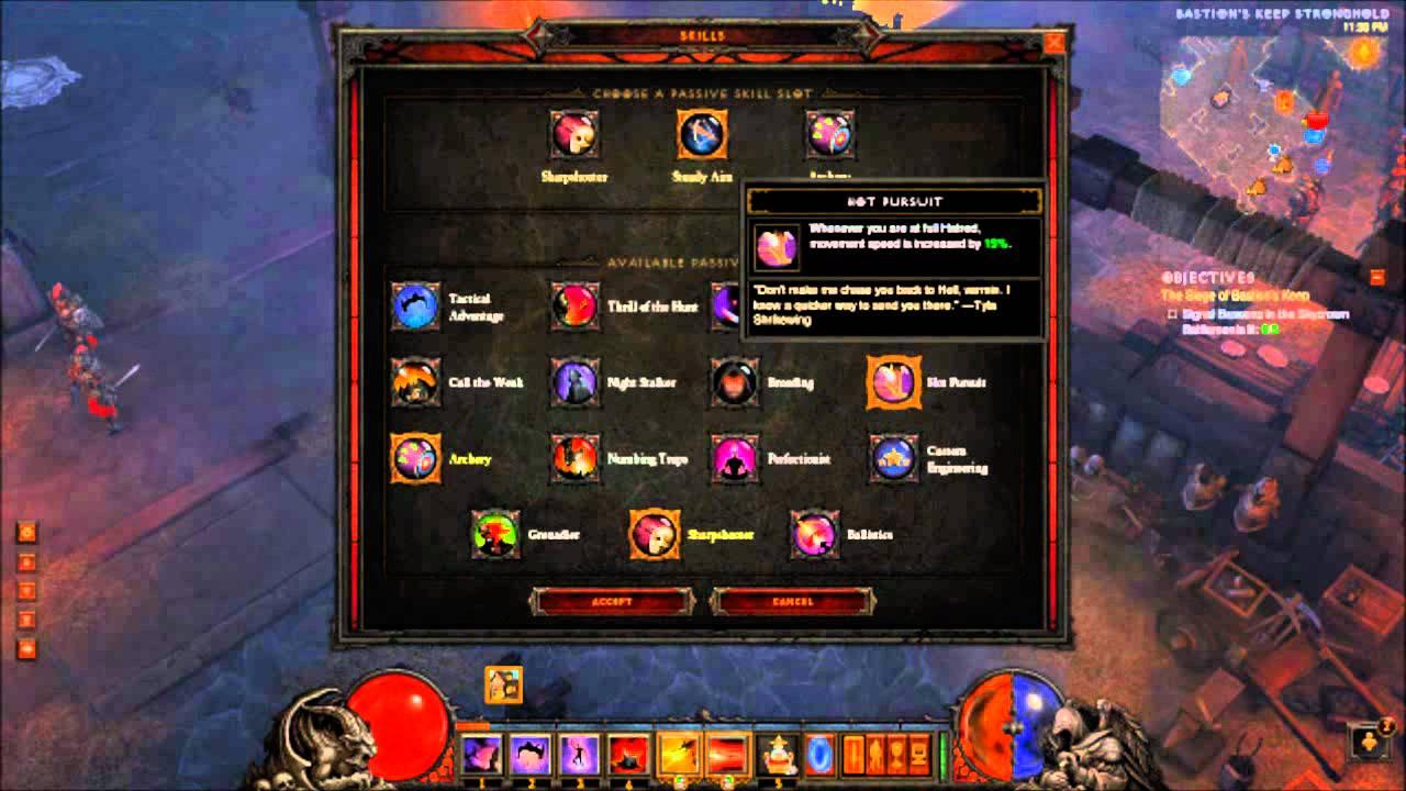 Diablo 3 Reaper of Souls Demon Hunter Speed Farm Torment 6