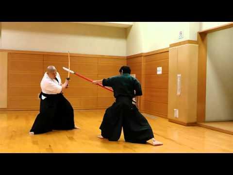 280508 PIKA × TAKE(槍vs刀)1対1 殺陣動画