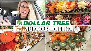 NEW DOLLAR TREE FALL DECOR 2018 | FALL HOME DECOR SHOP WITH ME