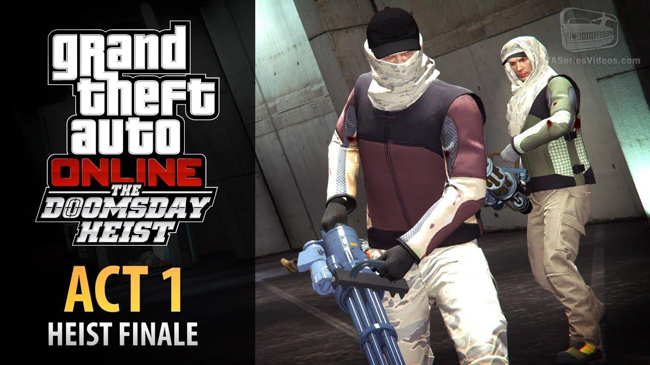 Download GTA Online: Doomsday Heist Act #1 - The Data Breaches Finale (Elite & Mastermind II)