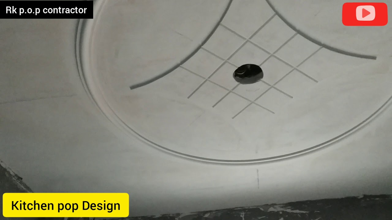 Kitchen simple pop Design / Rk p.o.p contractor - YouTube
