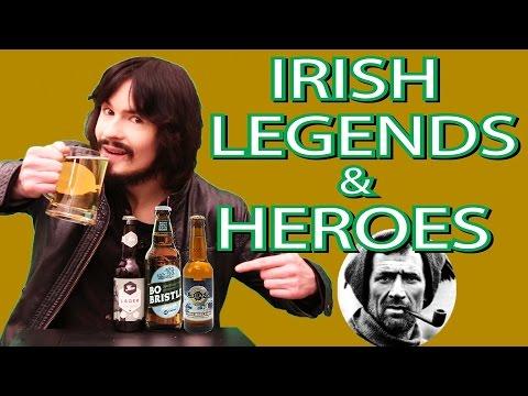 Best Drinks Based On 'Irish Legends & Heroes'