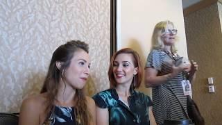 Dominique Provost-Chalkley and Katherine Barrell Talk WayHaught in Wynonna Earp Season 2