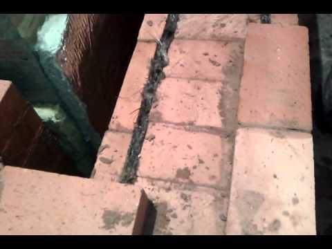 установка колосниковой решетки кладка топлевной камеры