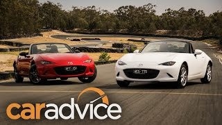 2016 Mazda MX-5 1.5L v 2.0L track comparison review
