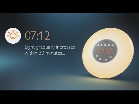 Philips Clock Radio Wake-up Light
