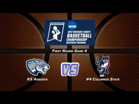 Regional Quarterfinal: #5 Augusta vs. #4 Columbus State 3/11/17