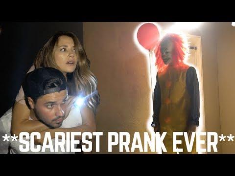 """""""IT"""" CLOWN PRANK WENT TOO FAR (mini horror film)"""