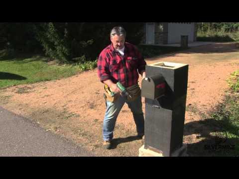 Stone Pillar & Mailbox How-To
