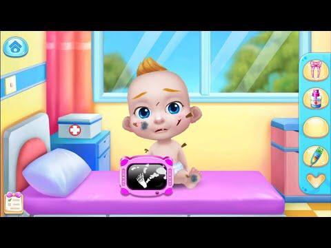 Играем в игру мультик для девочек: ухаживаем за малышом Беби Босс. Куклы Пупсики на канале Зырики ТВ
