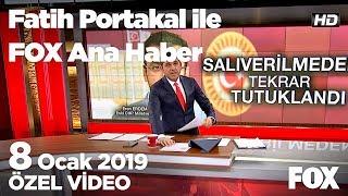 Eren Erdem yeniden tutuklandı!  8 Ocak 2019 Fatih Portakal ile FOX Ana Haber