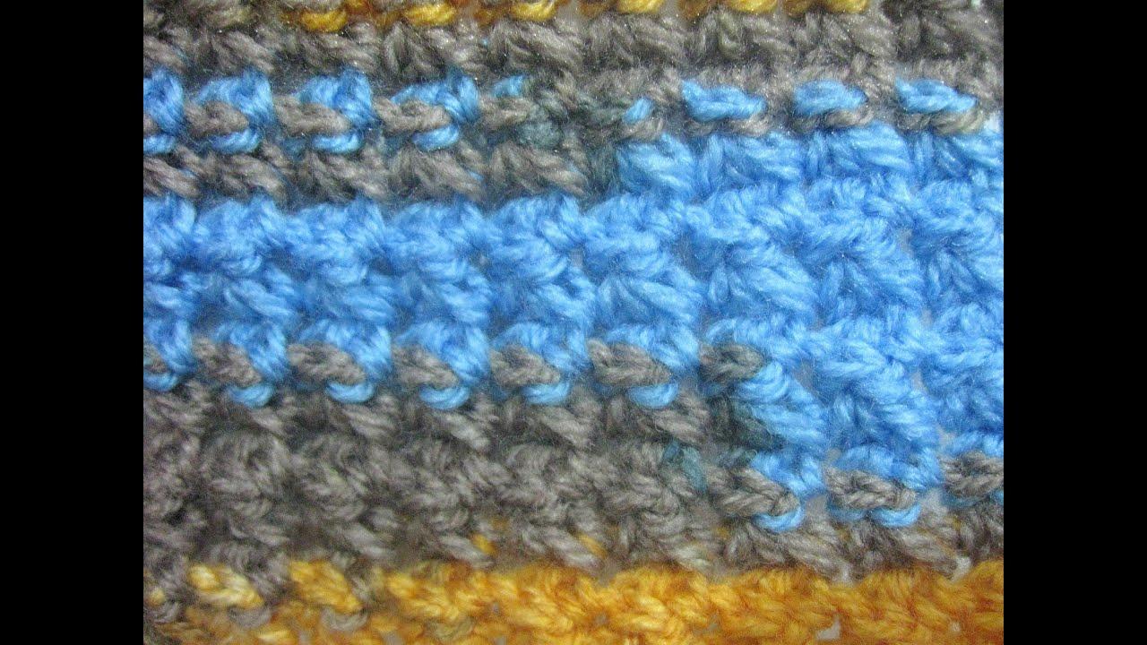 Trinity Stitch - Crochet Stitch Tutorial - YouTube