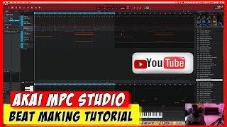 MPC Studio Beatmaking Video Tutorial - Hip Hop Series Pt.1