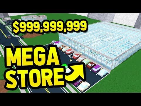 BUILDING THE BIGGEST SUPERMARKET in RETAIL TYCOON