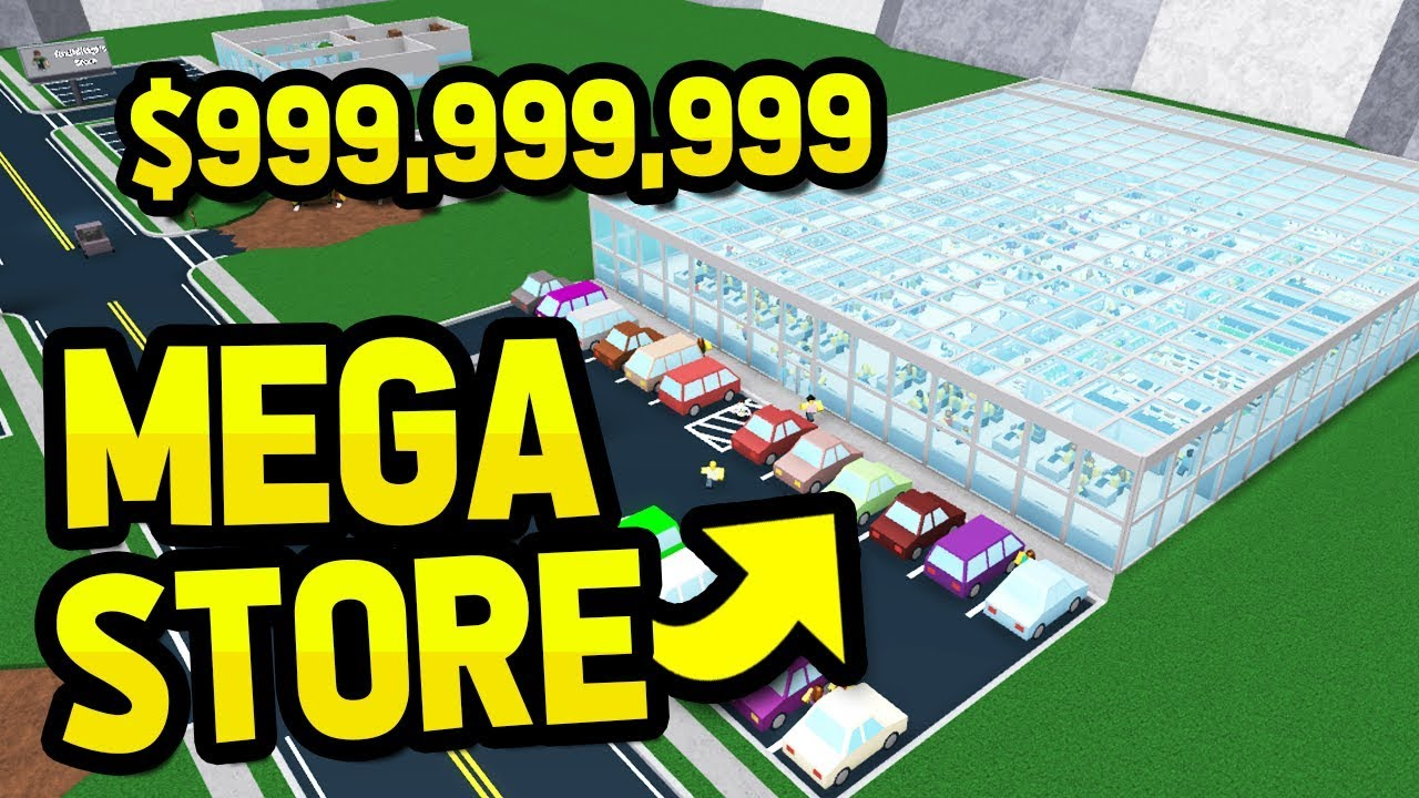 Building The Biggest Supermarket In Retail Tycoon Youtube