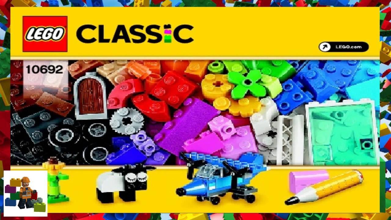 LEGO instructions - Classic - 10692 - Creative Bricks