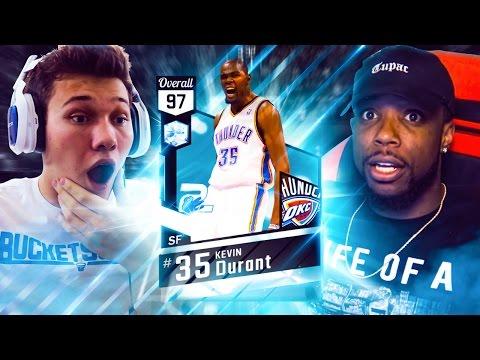 ULTIMATE DIAMOND KEVIN DURANT WAGER VS CASHNASTY! NBA 2K17