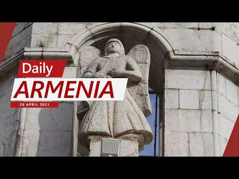 Angel Statues Of Shushi's Cathedral Removed By Azerbaijan