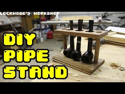 DIY Pipe Stand - Lockwood's Workshop