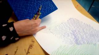 Texture: Texture Rubbings like Max Ernst