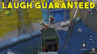 Try Not to Laugh Challenge - PUBGMOBILE | Part-12 |