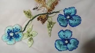 Люневильская вышивка для детского платья. Eli-stor.com