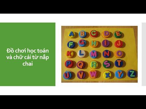 Đồ chơi từ nắp chai/ Learning toy with lids