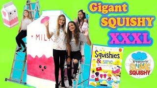 DIY NAJWIĘKSZE SQUISHY NA ŚWIECIE! ❤ Jak zrobić gigantyczne squishy!