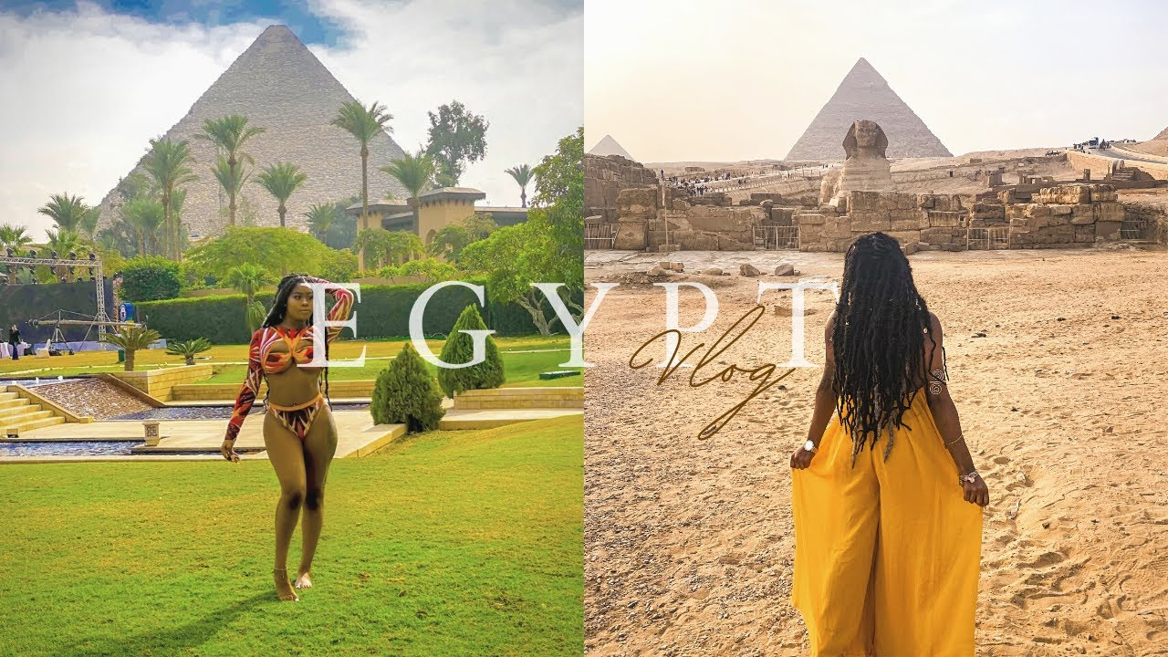 Egypt Travel Vlog During Pandemic | My First SOLO Vacation | CHANEL EMM